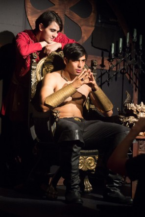 The Spirit of Prince Radu Encourages Dracula